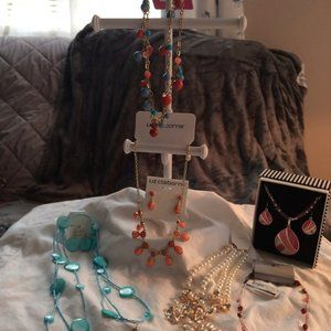 Bundle of Liz Claiborne, NY&C, Xhiliration Jewelry